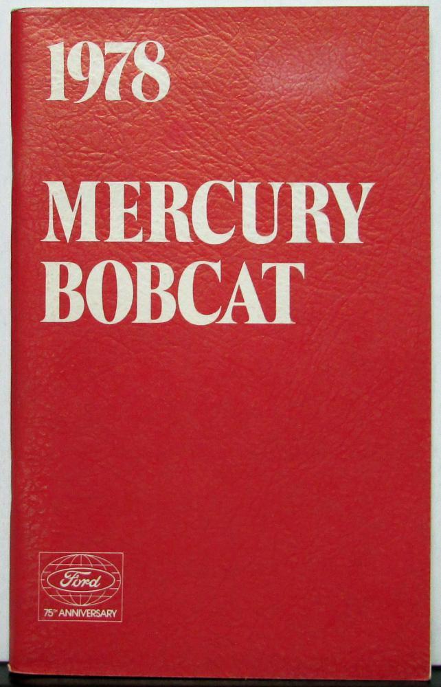 1978 Mercury 900 Manual