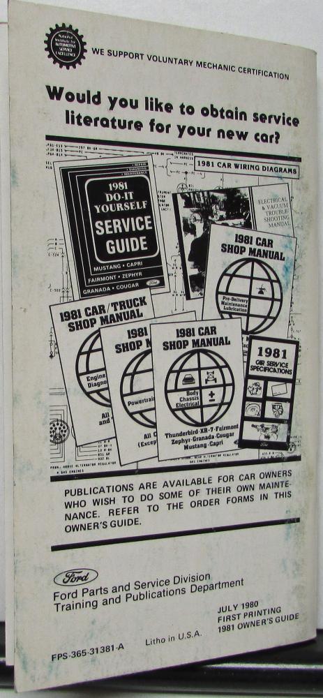 1981 mercury zephyr owners manual original ford fairlane wiring diagram mercury zephyr wiring diagram #40
