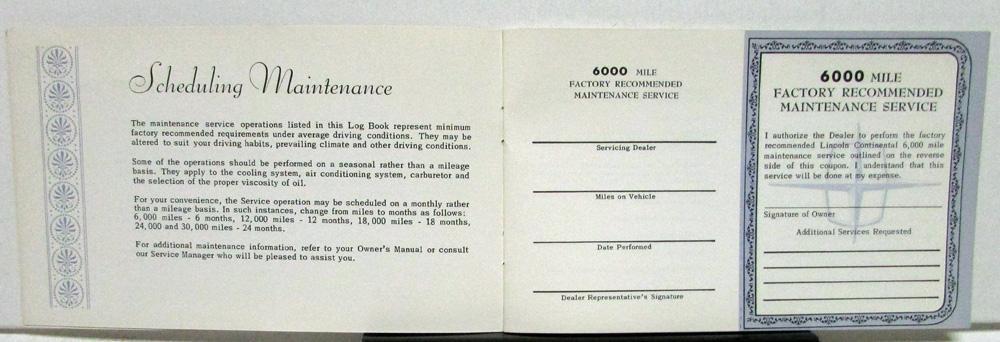 mile log book