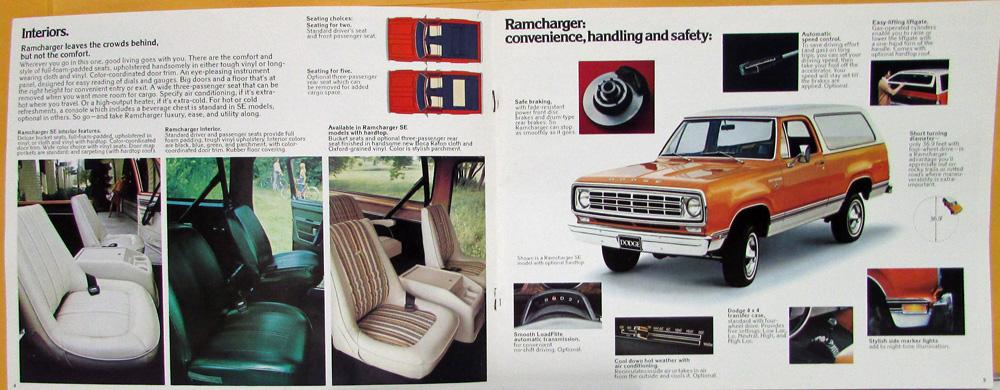 1976 dodge ramcharger soft top