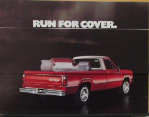 1976 Dodge Pickup Cap Cover Color Sales Folder Original