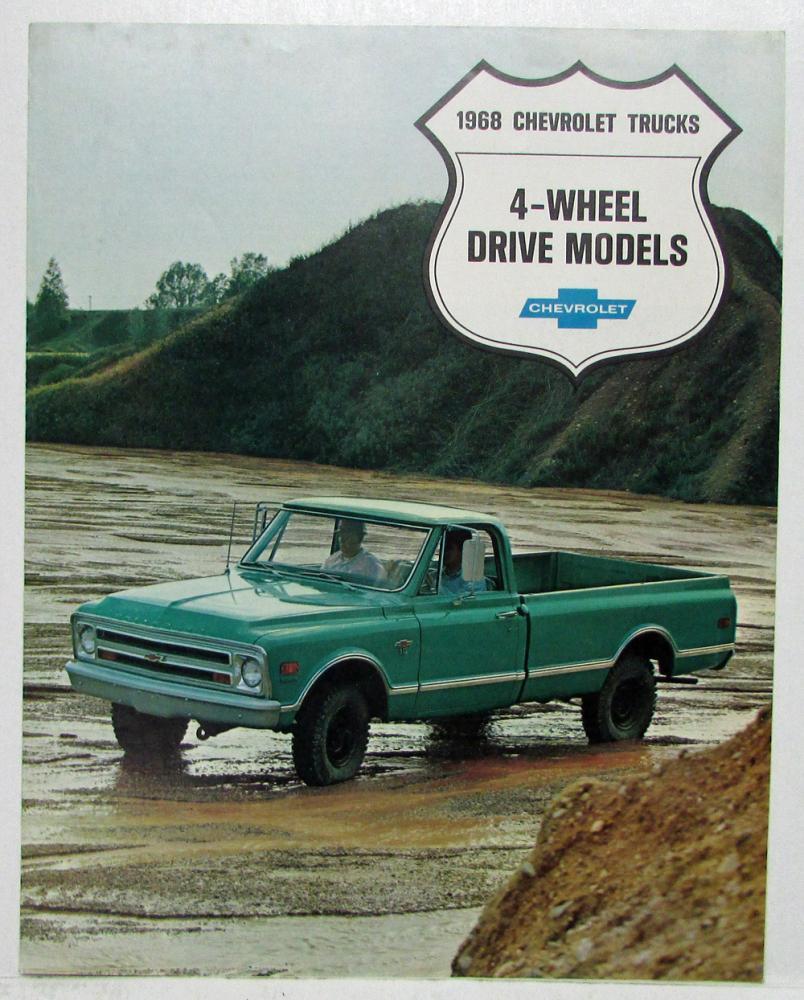 Chevrolet Trucks 4-Wheel Drive Models Sales Folder