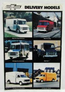 1977 Chevrolet Trucks Deliver Models Sales Postcard