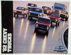 1982 Chevrolet Trucks Sales Brochure