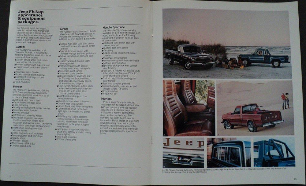 on 1972 Jeep Pickup