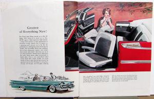 1959 Dodge Custom Royal Lancer Coronet Sierra Wagon Sales Mailer Brochure