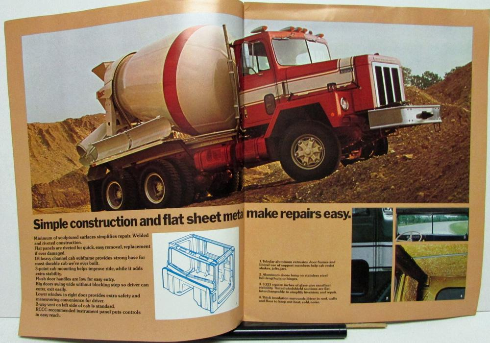 1974 International Trucks Dealer IH Large Sales Brochure ...