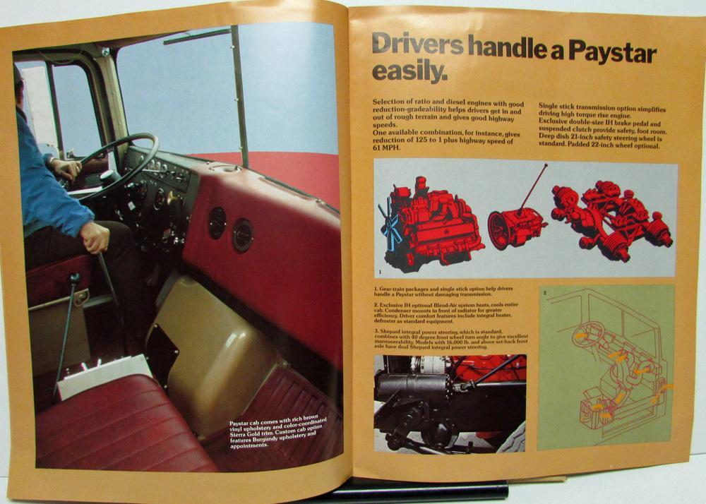 1974 International Trucks Dealer IH Large Sales Brochure ...