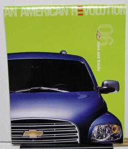 2006 Chevrolet Dealer Sales Brochure Full Line Car Truck Large Well Illustrated