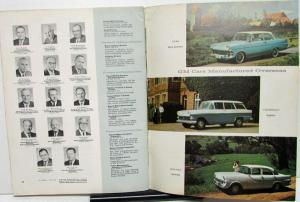 1960 General Motors GM Annual Report Booklet Shareholders Financial Stock Sales