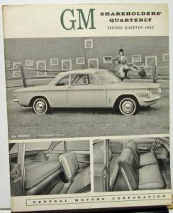 1960 Second Quarter General Motors Stock Shareholders