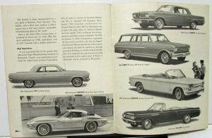 1962 Third Quarter General Motors Shareholders Quarterly With 1962 Models Shown