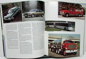 1981 General Motors GM Annual Report Chevrolet Camaro Z28 GMC Truck