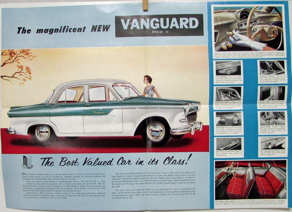 Magnificent Vanguard Classic Car Sales Component Classic