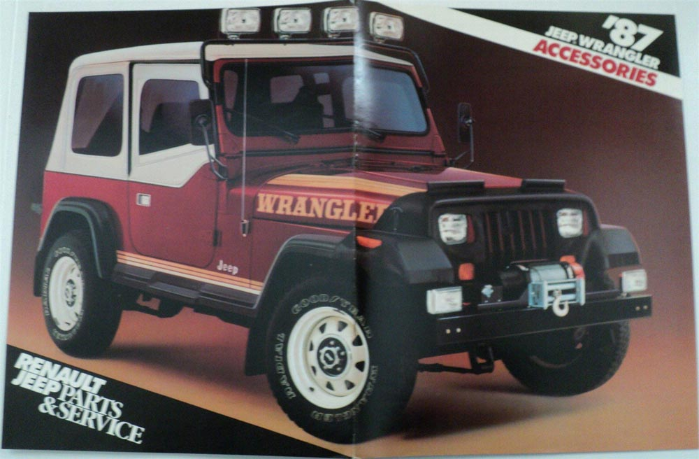 Jeep Wrangler Accessories Brochure By Renault Parts Service