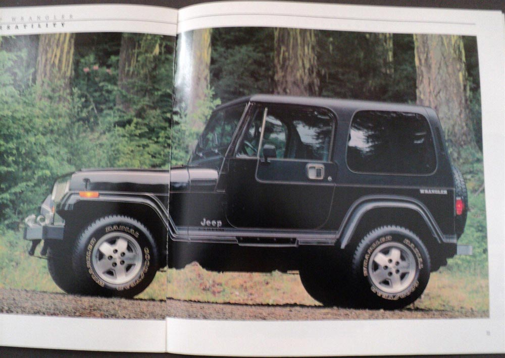 1988 Jeep Wrangler And Sahara And Laredo ORIGINAL Dealer
