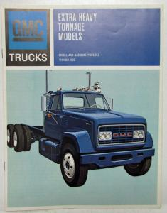 1967 GMC Trucks Gas & Diesel Extra Heavy Tonnage Models