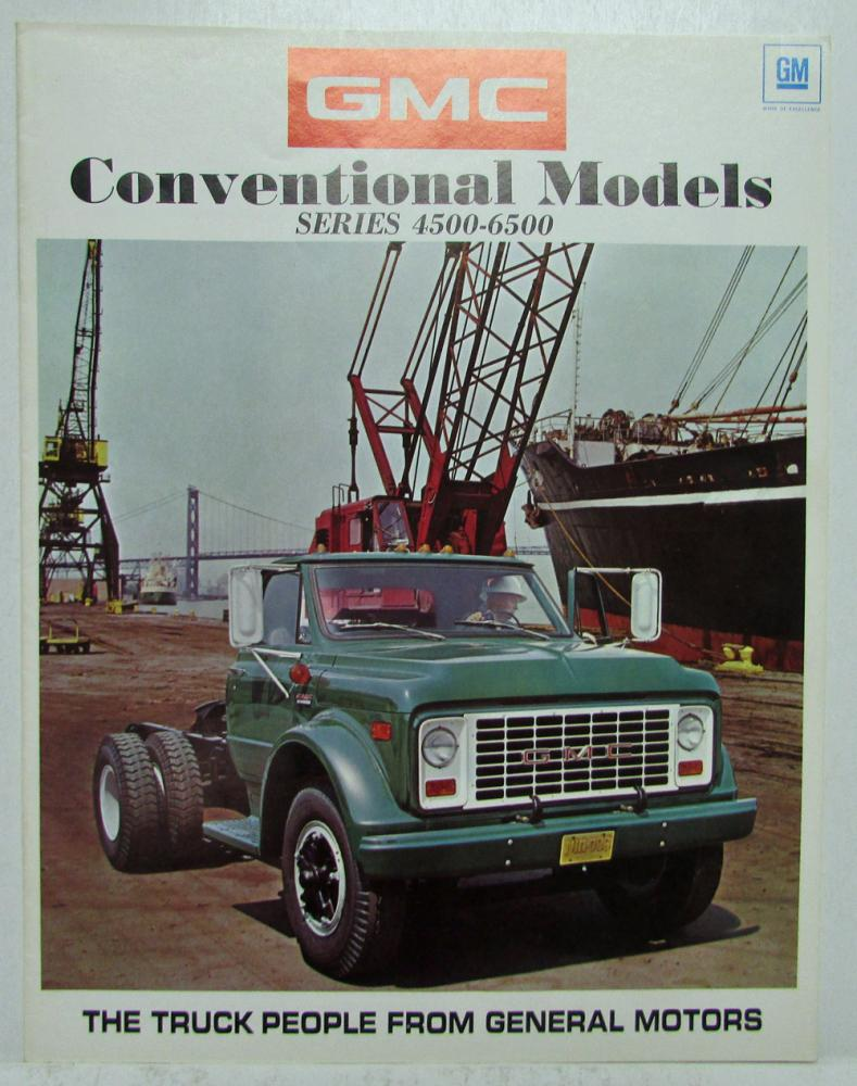 1971 gmc truck conventional models series 4500 6500 sales brochure rh autopaper com MCI G4500 2012 Chevy Express G4500
