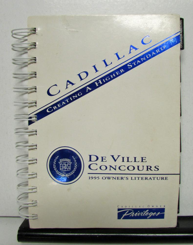 1995 cadillac deville concours operator owner manual original rh autopaper com 96 Cadillac DeVille Steering Wheel Control Wiring Diagram Cadillac Heated Steering Wheel Schematic