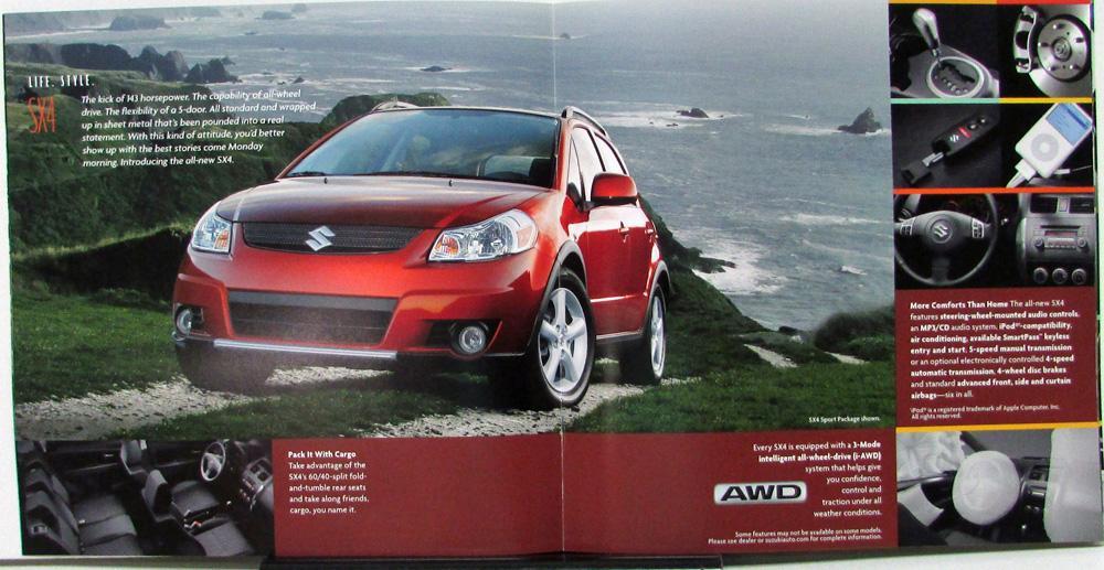 2007 Suzuki XL7 Vitara SX4 Forenza Wagon Reno Aerio Color Sales