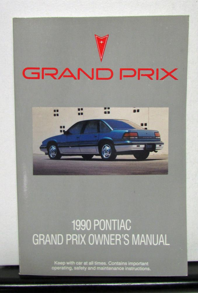 1990 pontiac grand prix operator owner manual original rh autopaper com 1998 Pontiac Grand Prix 1996 pontiac grand am repair manual
