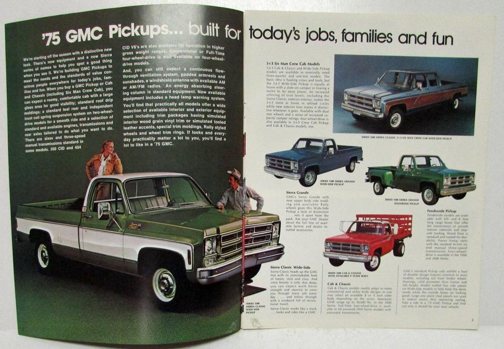 1988 gmc pickup brochure