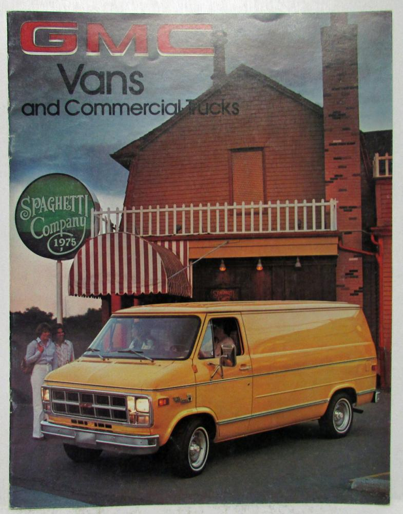 1978 GMC Trucks Vans and Commercial Trucks Sales Brochure
