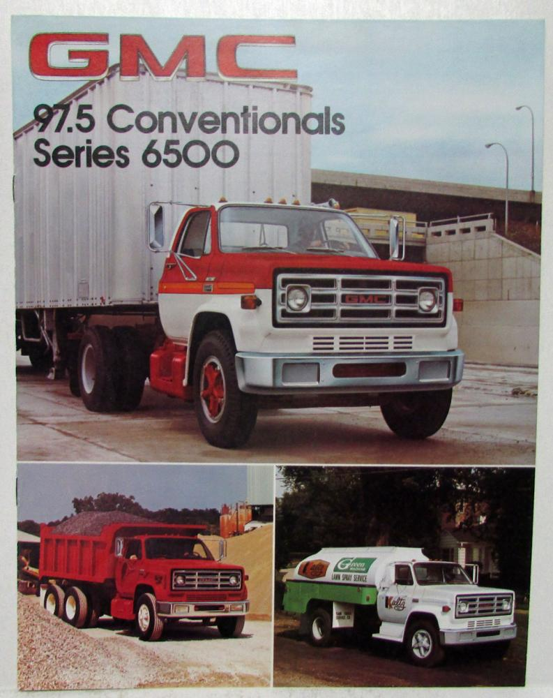 1978 GMC 97 and a half Conventionals Series 6500 Sales Brochure