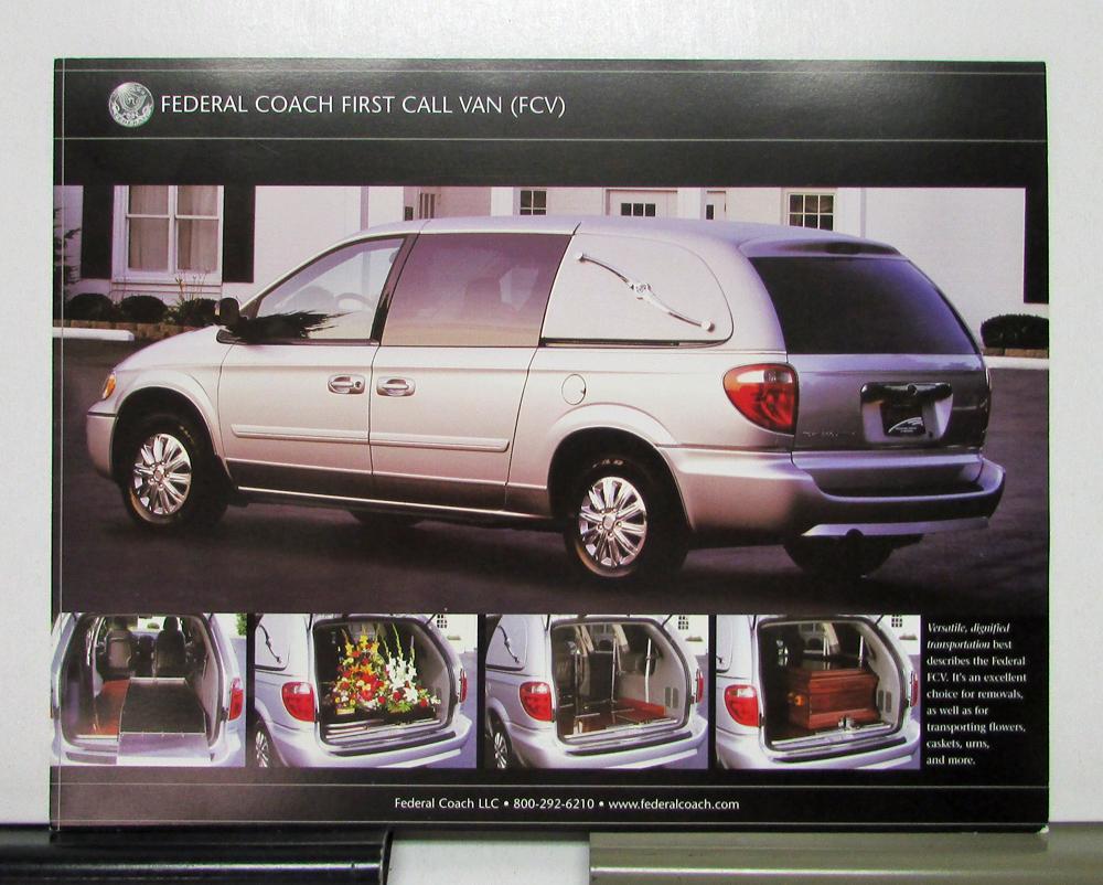 2007 Chrysler Town Country Lx Hearse Datasheet And Minivan