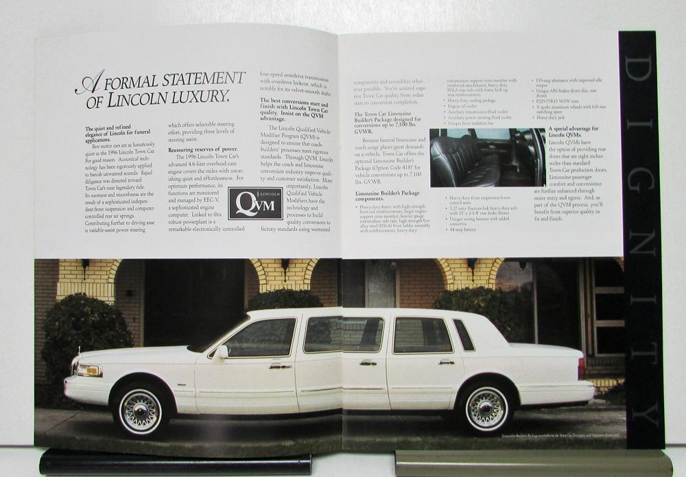 1996 Lincoln Town Car For Funeral Vehicle Limousine Hearse Sales