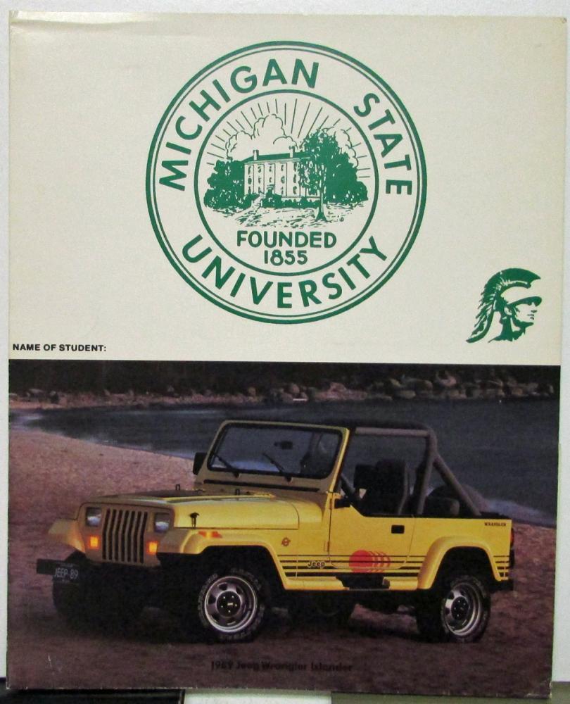 Img on 1989 Jeep Wrangler Sales Brochure