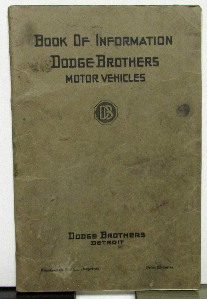 1920 dodge brothers car owners manual care operation instructions 1920 dodge brothers car owners manual care operation instructions maintenance publicscrutiny Choice Image