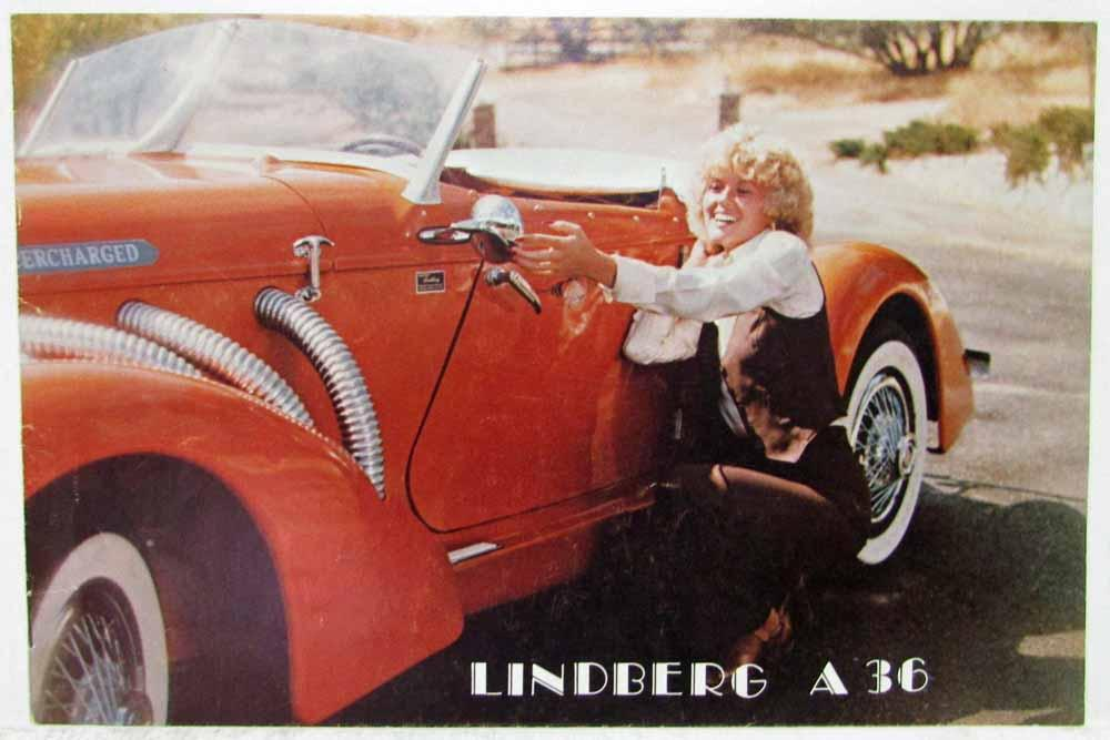 1988 Lindberg A-36 Sales Brochure with Pricing plus Add Your Own VW ...