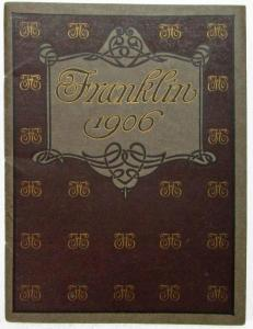1906 Franklin Sales Brochure