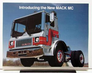 1980 Mack Truck Model MC 685T Datasheet