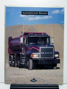1999 Mack Truck Series RD CL DM DMM DMMEX Conquest Victor Mid Liner RB Brochure