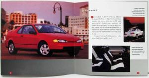1992 Toyota Cars & Trucks Sales Brochure Corolla Paseo Celica MR2 Supra 4Runner