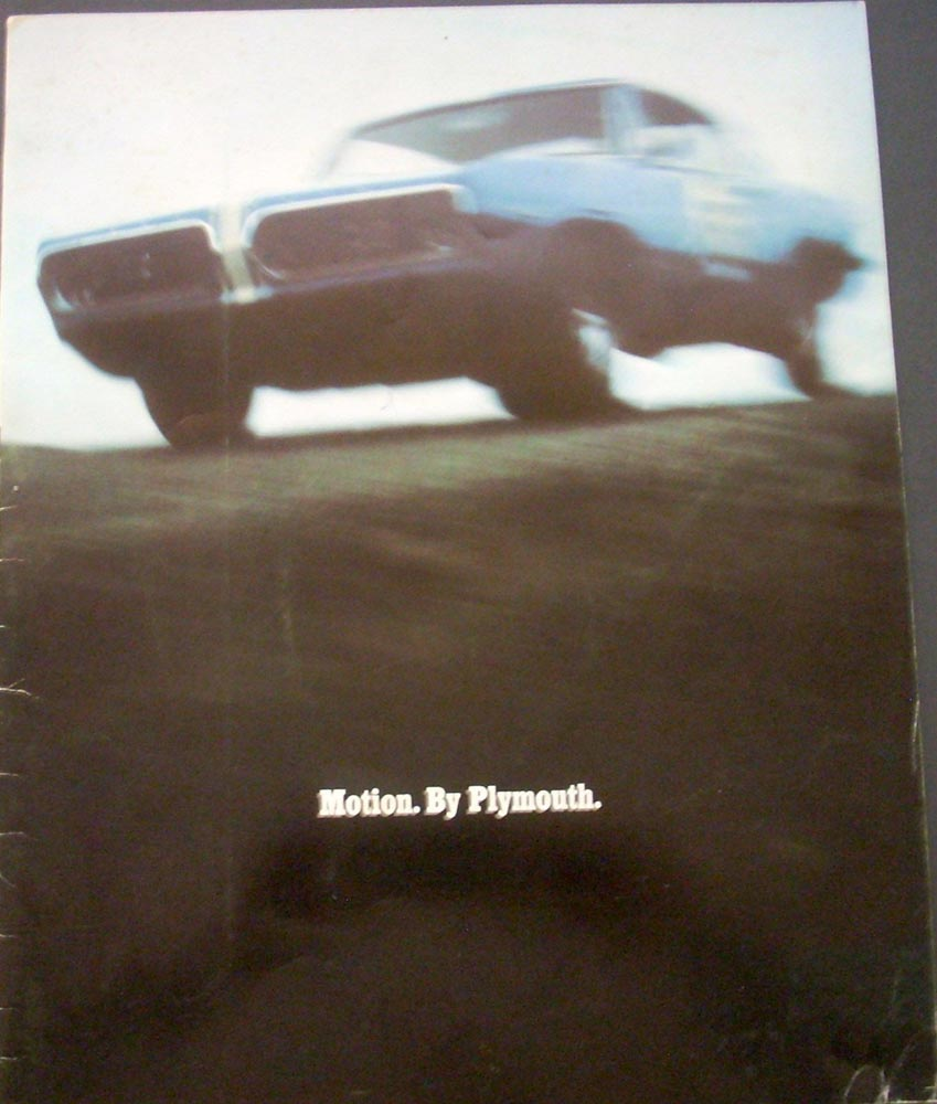 Original 1967 Plymouth Belvedere Owners Manual W Sleeve Gtx Nice Wiring Diagram Motion Book Sales Brochure Cuda 440 Hemi 273 Performance Rare 26098