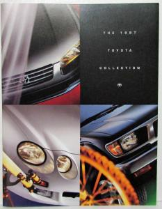 1997 Toyota Collection Sales Brochure Camry Corolla Celica RAV4 4Runner T100