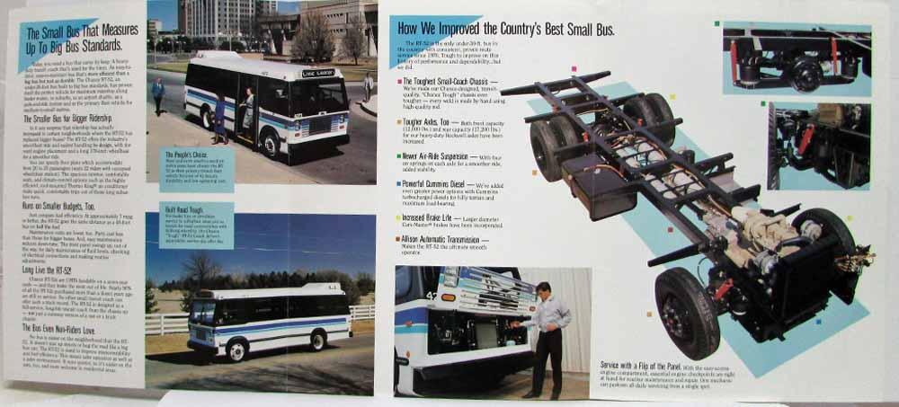 1991 Chance Coach Inc RT-52 Transit Bus The Size for the Times Sales