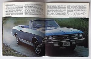 1969 Chevrolet Chevelle Malibu 300 Greenbrier Nomad Canadian Sales Brochure