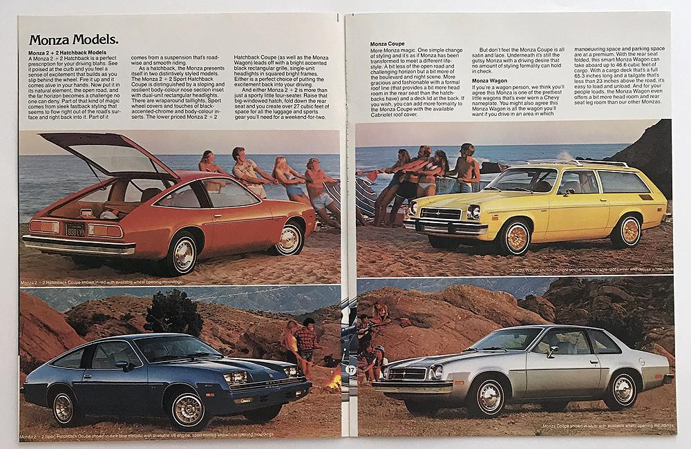 1979 chevrolet monza canadian sales brochure rh autopaper com manual de usuario chevy monza 2002 1976 Chevy Monza
