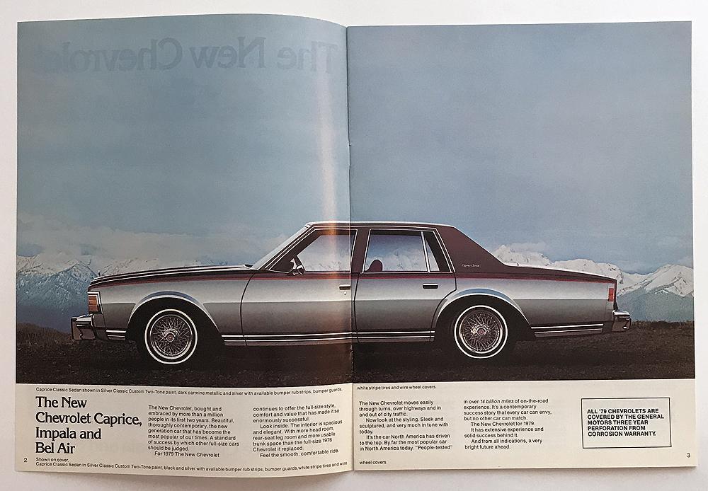 1979 Chevrolet Caprice Classic Impala Bel Air Canadian ...