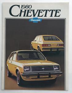 1980 chevrolet chevette canadian sales brochure