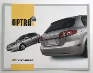 2004 Chevrolet Optra Canadian Sales Brochure