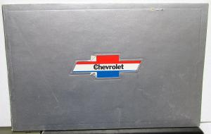 1911 To 1974 The Chevrolet Story Brochure Die Cut Cover Book Original