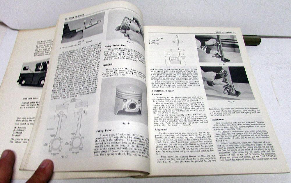 1963 65 studebaker dealer 8e5 fc postal zip van truck shop service1963 65 studebaker dealer 8e5 fc postal zip van truck shop service repair manual