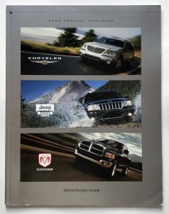 2004 Chrysler Jeep Dodge Canadian Product Catalog