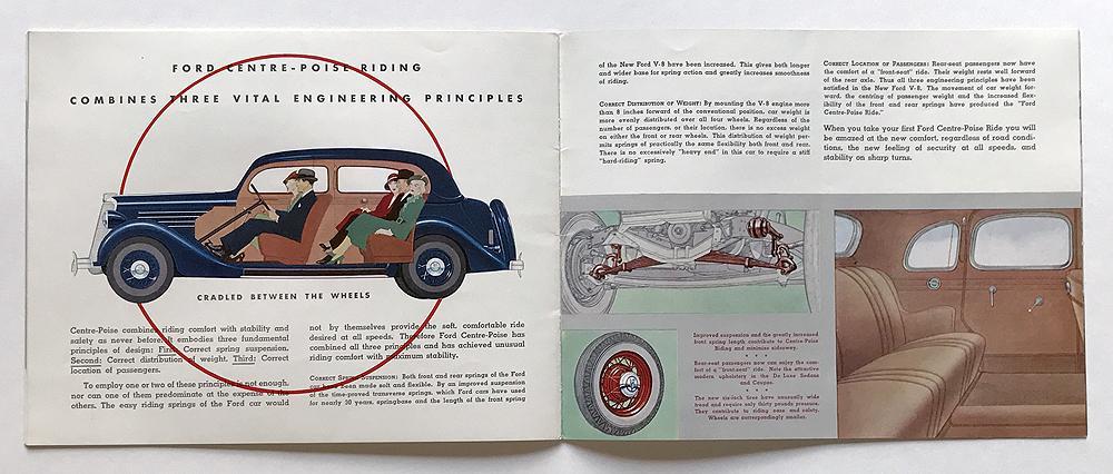 1941 FORD V-8  PASSENGER CAR SALES BROCHURE
