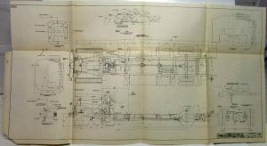 1928 Studebaker Bus Chassis Schematic